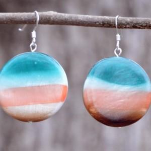 Sunset Resin Earrings