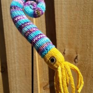 Knit LITUITES - PREHISTORIC SQUID