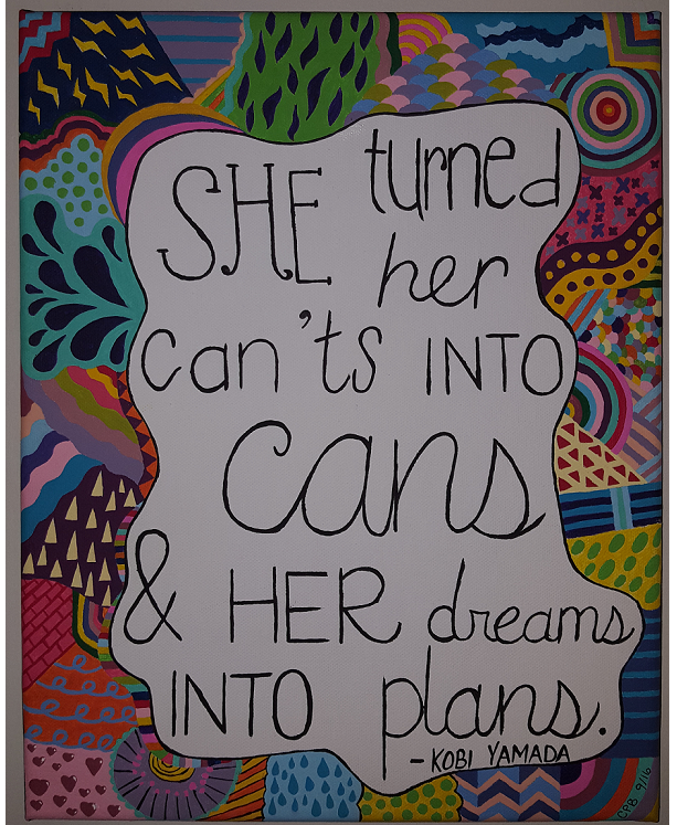 Painted Quote