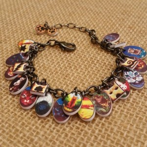 Warrior Cats Charm Bracelet for Young Readers of the Warrior Cats Book Series