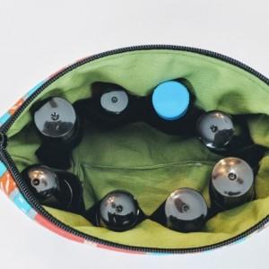 Boho Essential Oil Bag, Essential Oil Travel, Oil Pouch, Roller Ball Bag, Essential Oil Case, Small Essential Oil Storage, Roller Ball Case