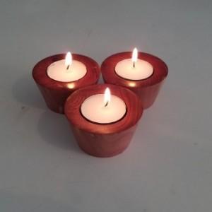 red cedar tea light