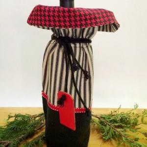 Wine bag, Hostess gift, Thank you Gift, Housewarming, Teacher gift, Party bag, Welcome to the neighborhood gift