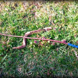Blue Water Goddess Magic Wand-Made from Willow Wood-Freshwater Pearls-Blue Suede Handle