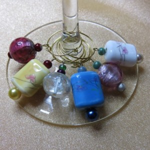 Wine Glass Charms #10