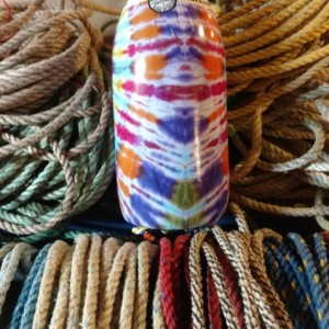 Tie Dye!  A real Maine lobster buoy!