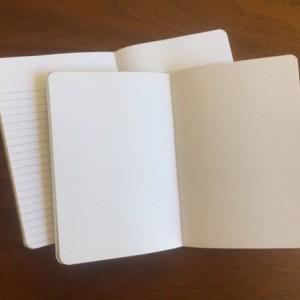 Airplane Notebooks 2 pack 3.5in x 5in Pocket Notebook handcrafted journal diary sketchbook gift set handmade kraft Premium Notebook no logos