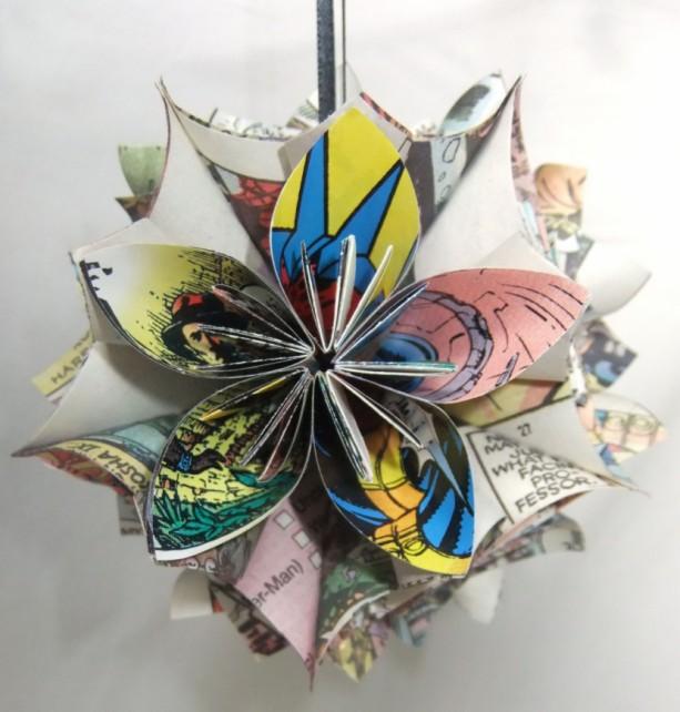 large xmen origami christmas tree ornament aftcra