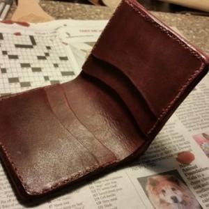 Handtooled Jedi Wallet Bi-Fold