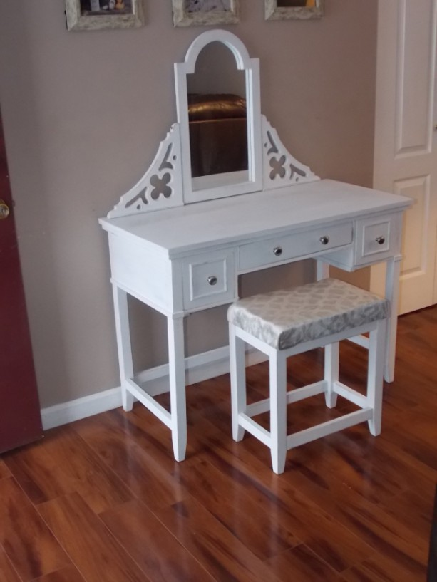 ... Bedroom Customizable, Vanity, Table, Makeup Table, Makeup Organizer,  Jewelry Organizer, ...