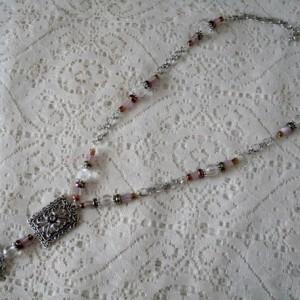 Gypsy Moon Necklace, boho bohemian hippie moroccan new age boho chic