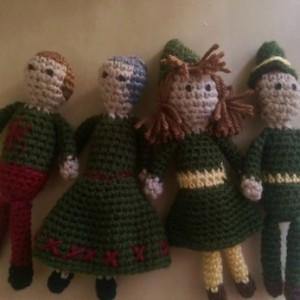 Set of 4 Kindness Elves!