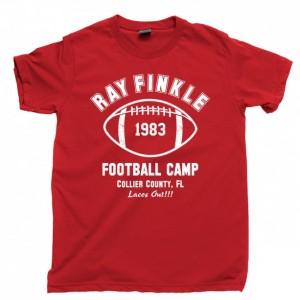 Ace Ventura Men's T Shirt, Pet Detective Ray Finkle Laces Out Football Camp Jim Carrey Movie Unisex Cotton Tee Shirt