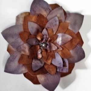 Leather Wall Flower