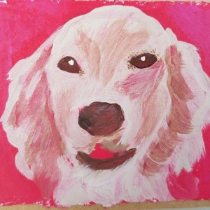 Hand-painted Dog Blank Notecards, 5-Pack