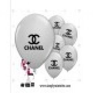 Chanel Silver Balloons