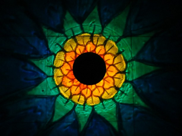 HandPainted Solar SunFlower Luminary