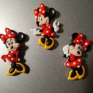 Magnets, 3 Strong Refrigerator Magnets, Cubicle Decor, Locker Magnets, Office Supply, Minnie Mouse,  Minnie, Disney, Disneyland