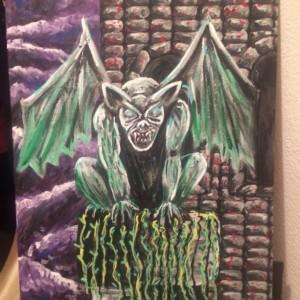 Gargoyle Painting