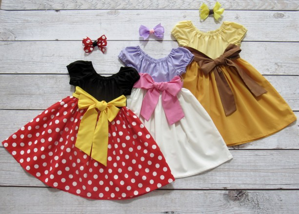 MIN- Girl Mouse Inspired Dress