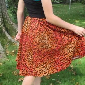 Halloween Bat Skirt Handmade Drawstring Ribbon Witches Skirt Halloween Holiday Skirt sizes 0-16