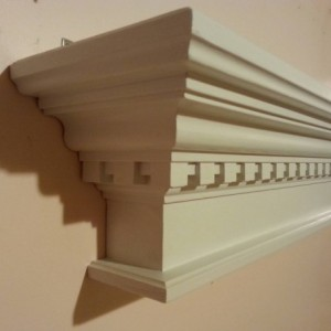 Dental crown molding shelf