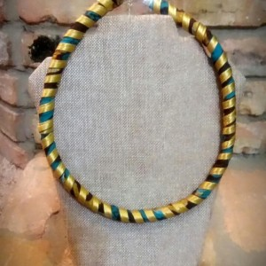 African Print Fabric Rope Necklace, Ankara Tribal Necklace, Ankara Necklace, Ankara Rope Necklace, Tribal Necklace, African Print Jewelry