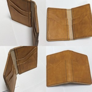 Kangaroo Hide Credit Card Wallet - 6 credit card slots