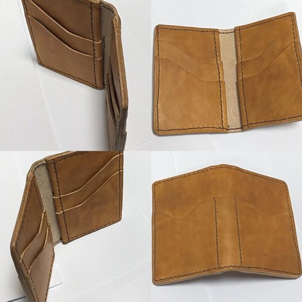 Kangaroo Hide Credit Card Wallet - 6 credit card slots