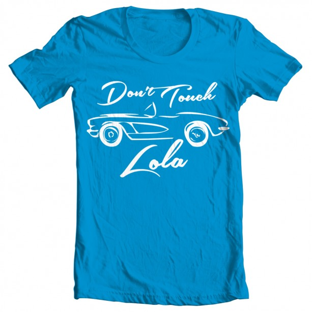 Agents of Shield And Dont Touch Lola Womens T-Shirt