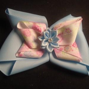 Handmade Ribbon Bow Barrette