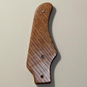 Fender strat styled guitar wall hanger