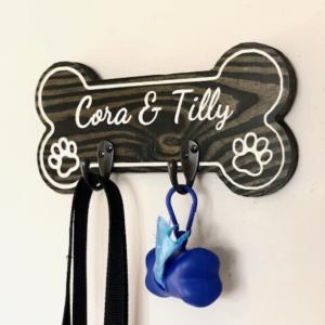 Custom Dog Leash Holder