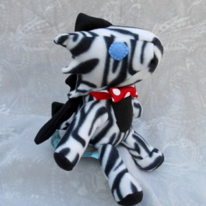 Zebra Print Small Dragon