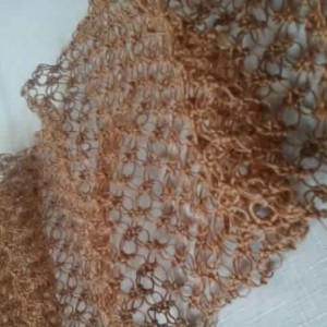 Lover's Knot Scarf in Hemp