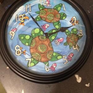 Sea Turtle Clock
