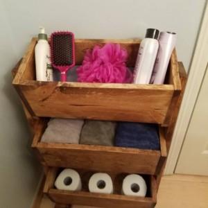 Bathroom Shelves, Home Organization