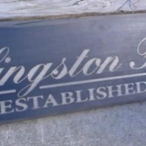 Established Name Sign