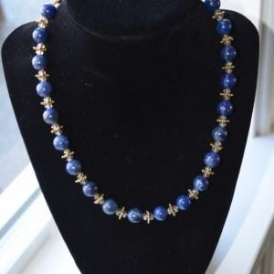 N8- Lapis Lazuli necklace