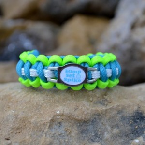 Bump Set Spike Volleyball Paracord Bracelet