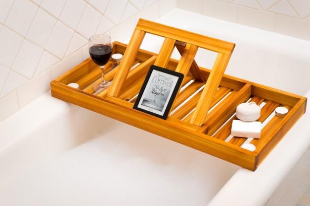 Cedar bath tray
