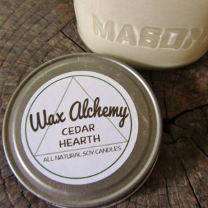 Cedar Hearth 8 oz Soy Candle