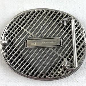 Artisan made Paladin sterling silver belt buckle