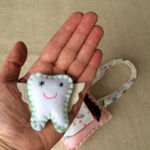 tooth fairy pillow - toothfairy - personalized gift - kids tooth fairy pillow - hanging tooth fairy pillow - toothfairy plush