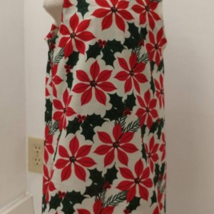 Christmas Poinsettia Dress