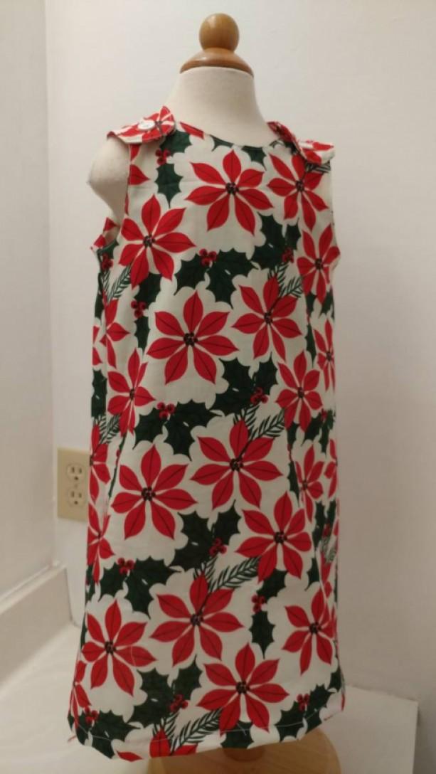 Christmas Poinsettia Dress