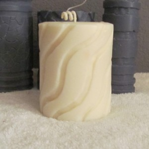 White Sweater - Custom Scented Soy Artisan Pillar Candle