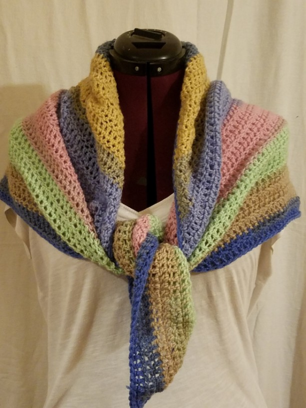 Women's Summer Triangle Scarf