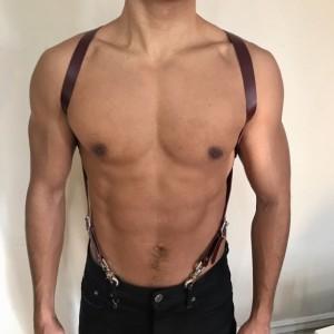 "3/4"" X-Back Harness Suspenders"