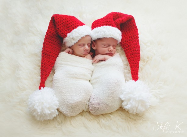 Newborn Christmas Outfit Baby Christmas Hat And Diaper